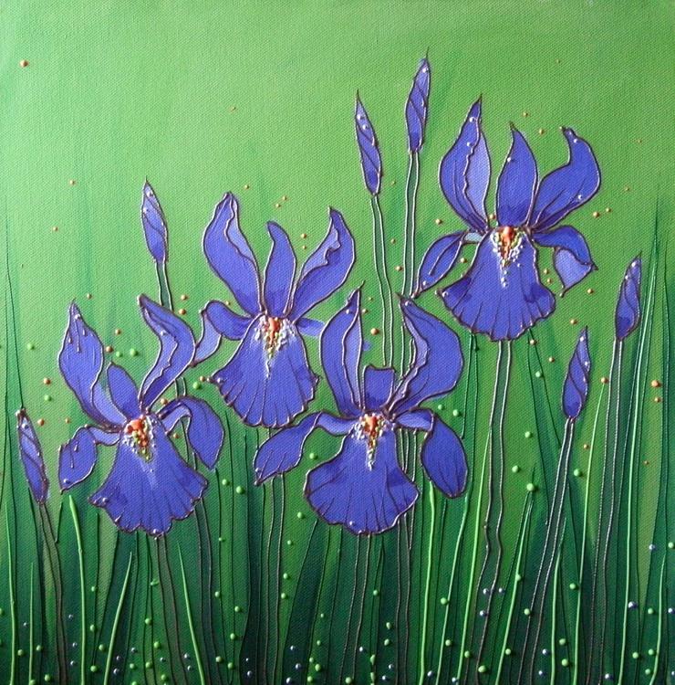 Iris bejewelled - Image 0