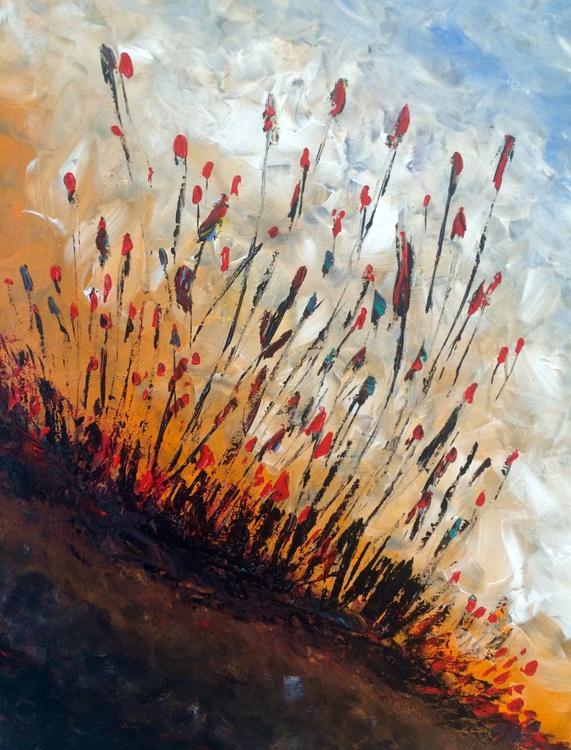 Joy of Life , Acrylic Abstractart , painting , 50x60 cm - Image 0