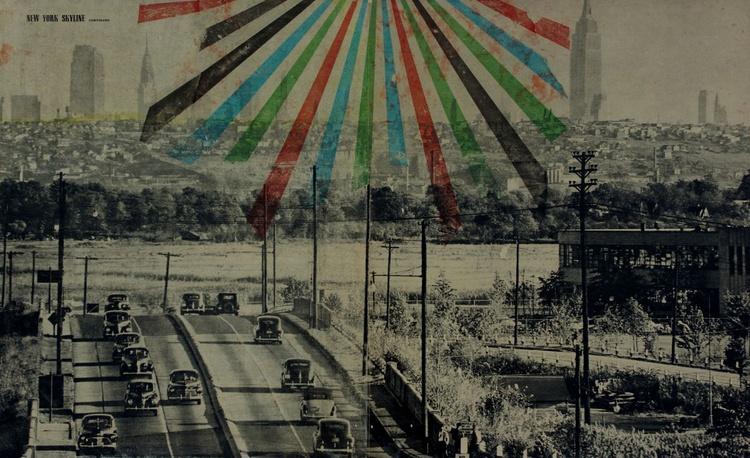 NEW YORK SKYLINE 1948 - Image 0
