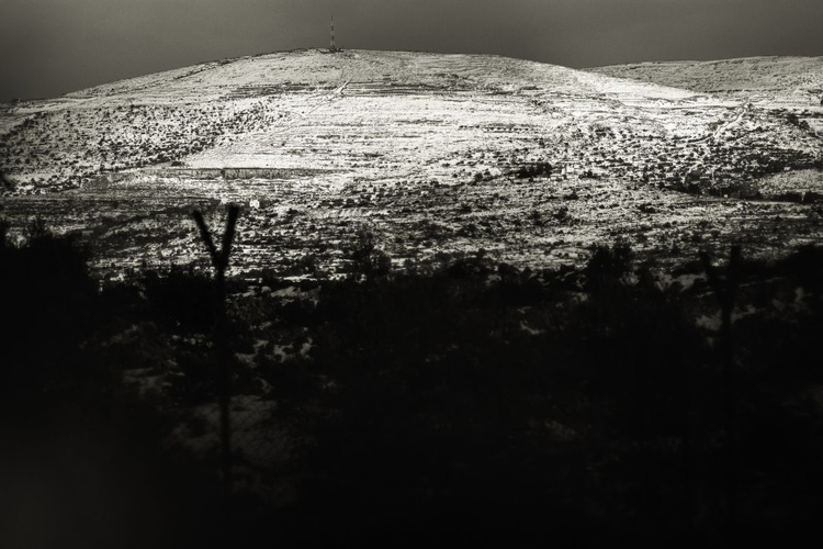 """""""Snowy mountains of Judea and Samaria"""" - Image 0"""