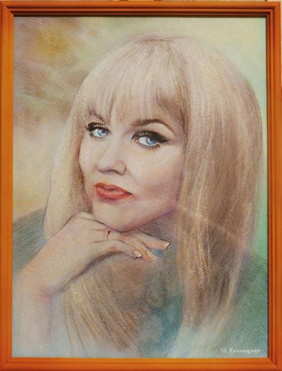 pastel portrait - Image 0