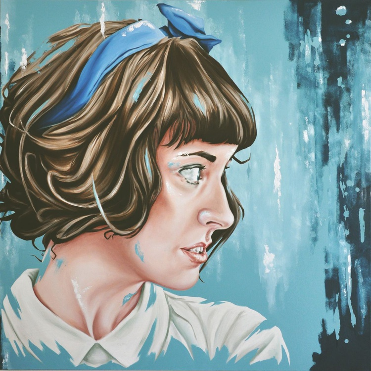 The Girl With The Blue Ribbon - Image 0