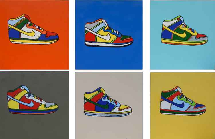 "Pop Art No. 2 - ""Nikes"" -"