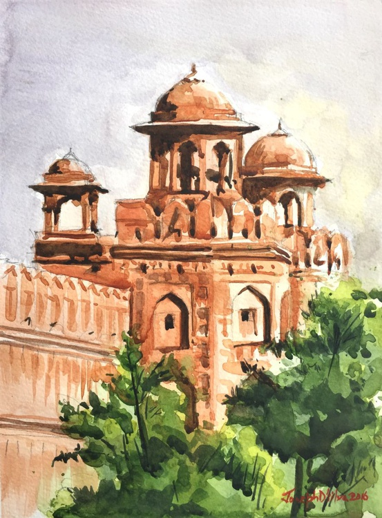 Red Fort in Delhi - India - Image 0