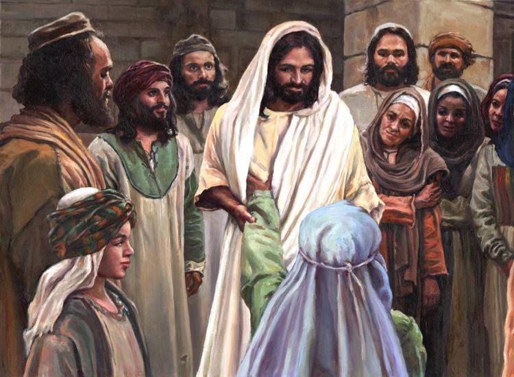 Jesus and Crowd - Image 0