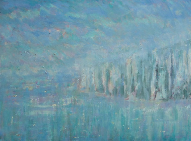 Warm And Misty Cliffs - Image 0