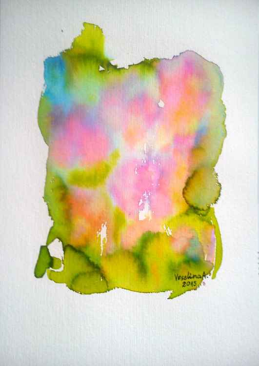 Abstract watercolour -
