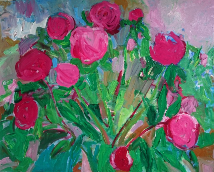 Bouquet of pink peonies - Image 0