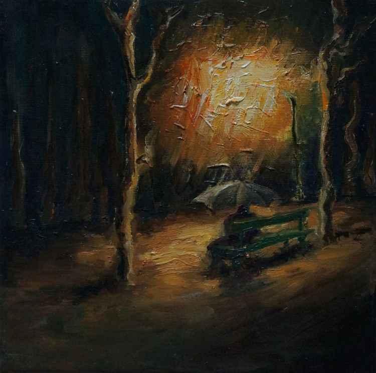 In the rain III