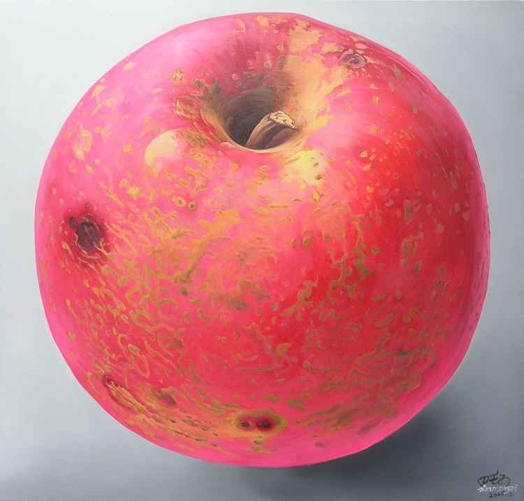 apple planet---extraterrestrial -