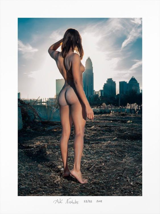 Charlotte Skyline - limited edition 8/10 - Image 0