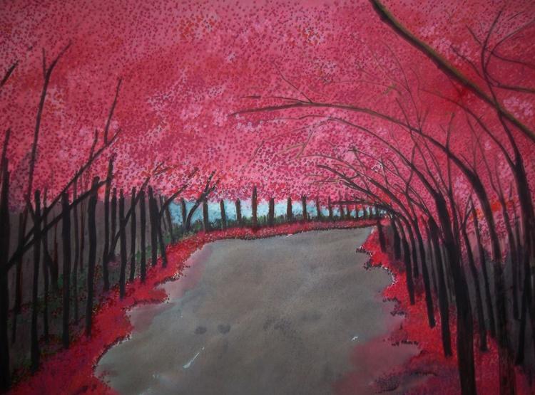 [470] Walk under blossom. - Image 0