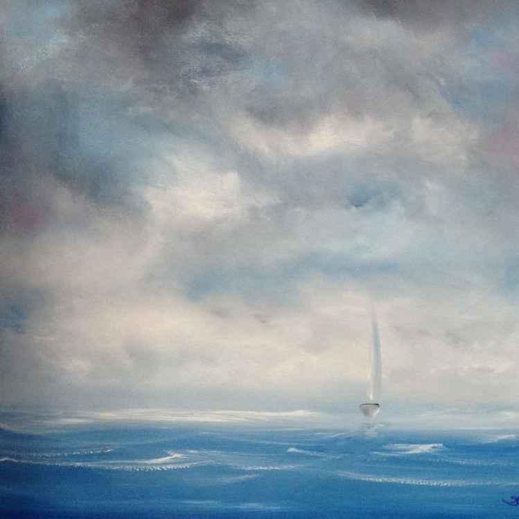 Solo sailing -