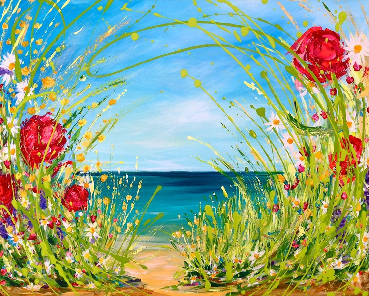 Blooming trail to the sea! - Image 0