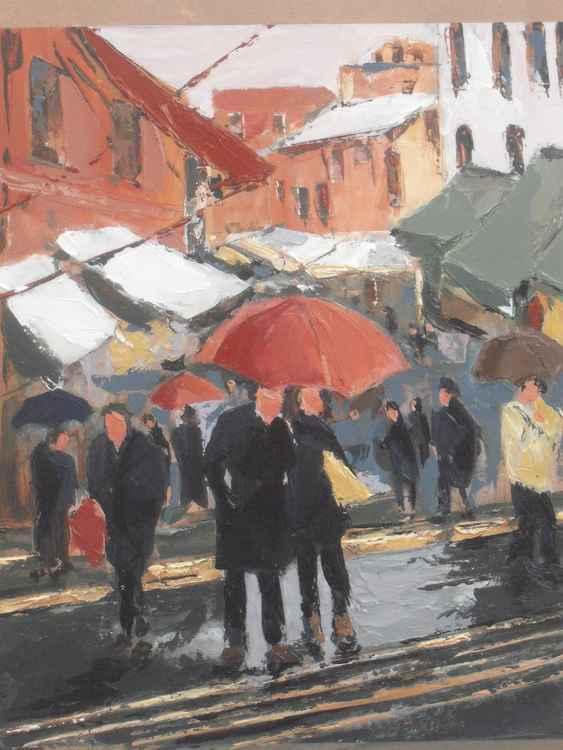 RAIN IN NAPLES