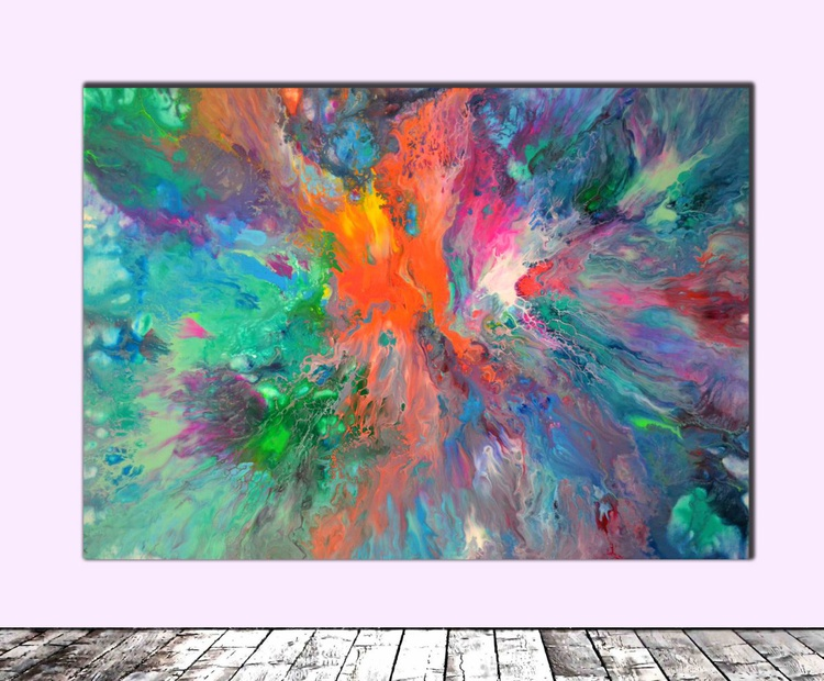 Perfect Balance - Abstract Painting - Ready to Hang, Office, Home, Hotel and Restaurant Wall Decoration - Image 0