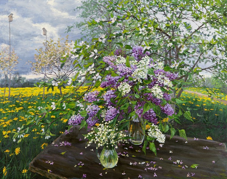 Lilac and Lilies of the Valley - Image 0
