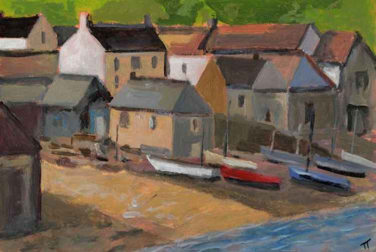 Cadgwith Cove up close. -