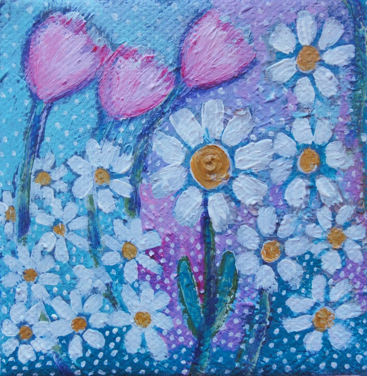 Tulips and Daisies - Image 0