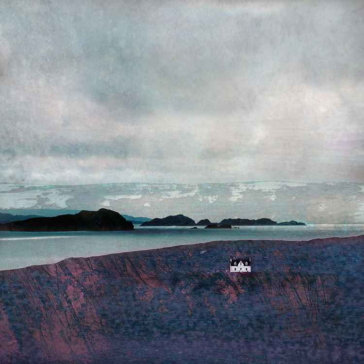 The Summer Isles from Achiltibuie, Large Giclee Print.  Assynt Scotland -