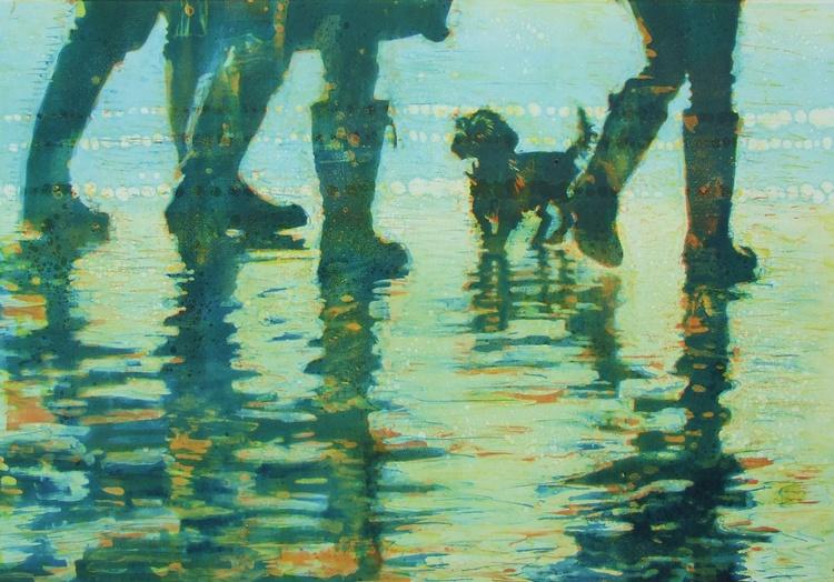 Little dog on the Seashore - Image 0
