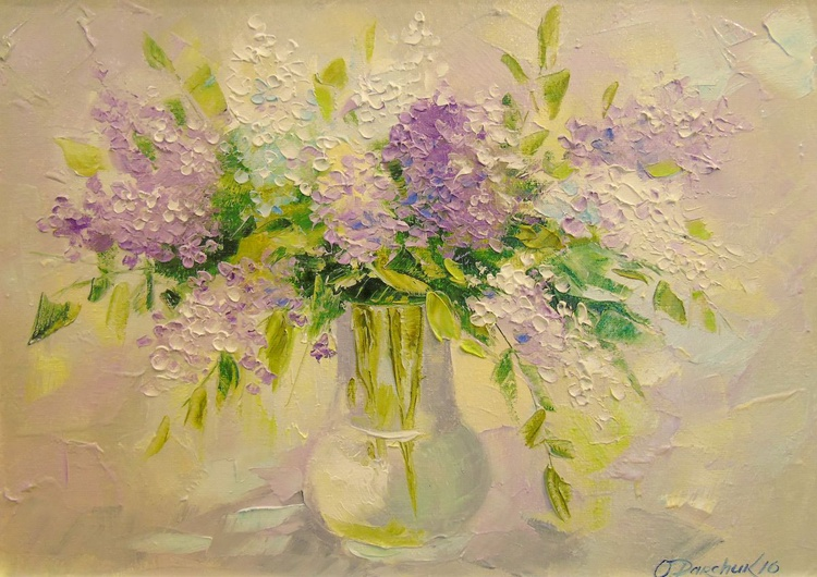 Delicate lilacs - Image 0