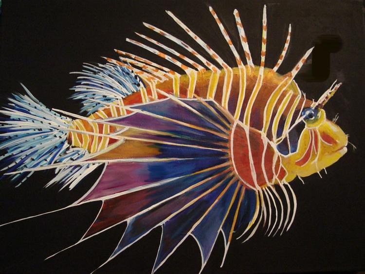 Vera Lisso the Lion Fish - Image 0