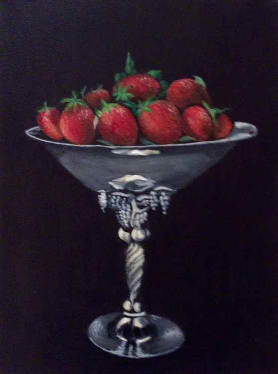 Strawberries in a bowl -