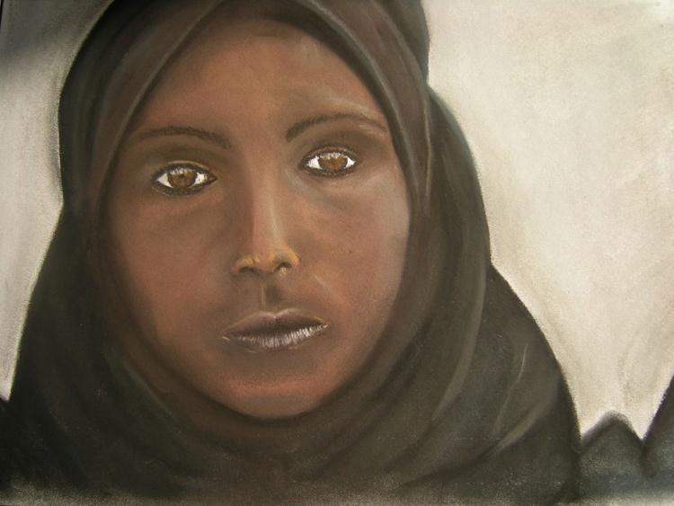 """Album """"Children of the world"""". Somalian girl. - Image 0"""