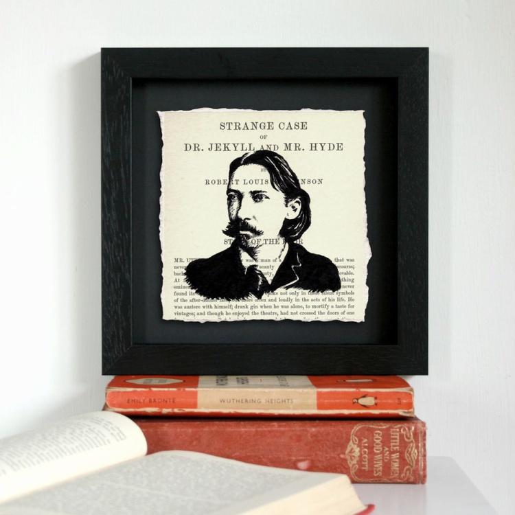 R. L. Stevenson - Dr. Jekyll and Mr. Hyde (Framed) - Image 0
