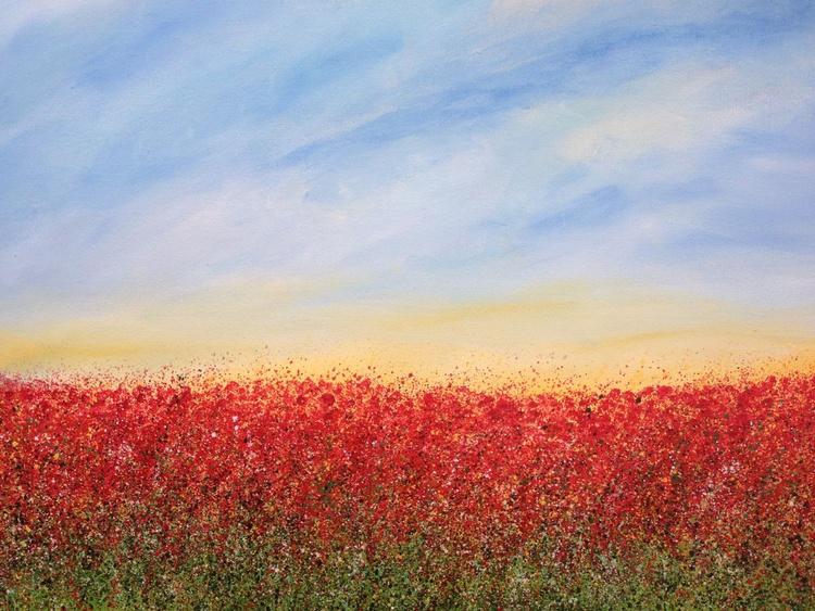 """""""Sunrise Over Poppy Fields"""" - Image 0"""