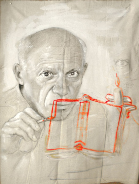 Portrait of Picasso - Image 0