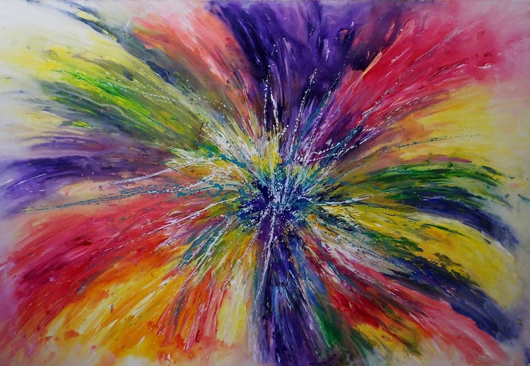 Psychedelic Explosion (Extremely Large) - Image 0