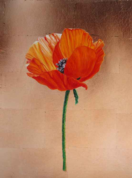 """Orange Poppy II"" -"