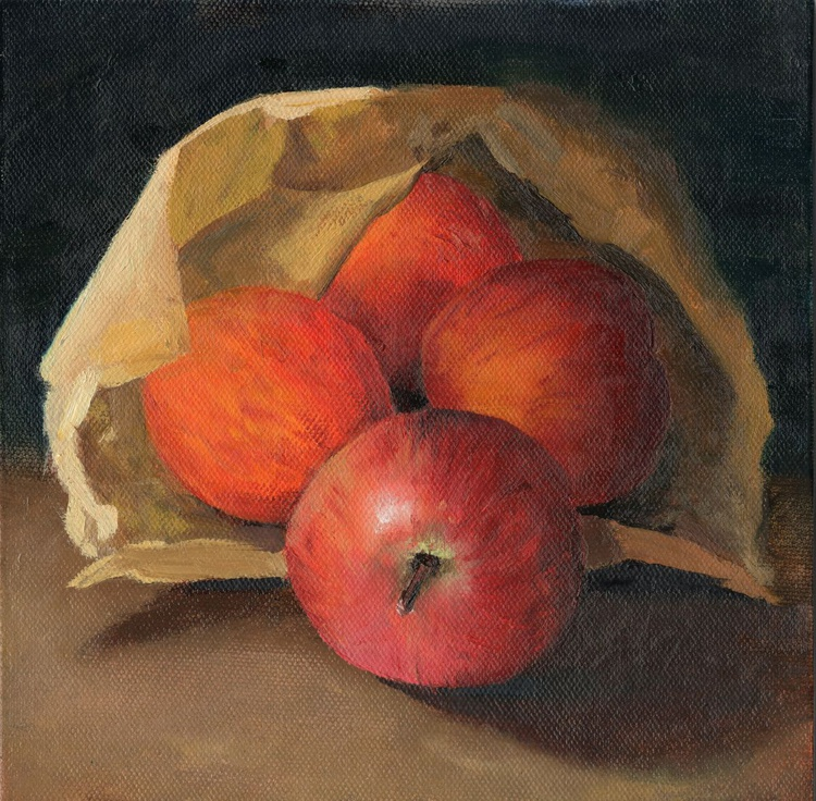 Apples in a Bag - Image 0