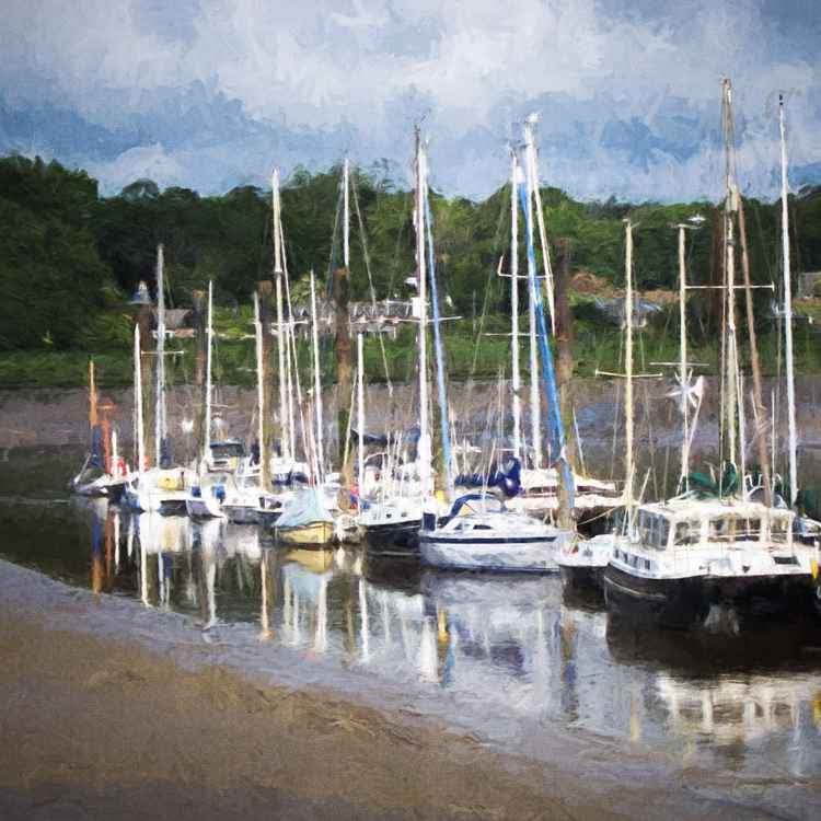Boats at Berwick -