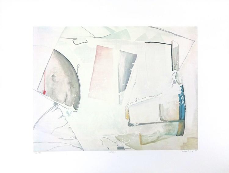 Arktis - Farbsiebdruck 80 x 60 cm - Image 0