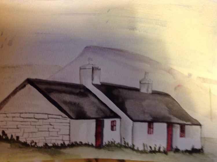 Blackrock cottage,glencoe -