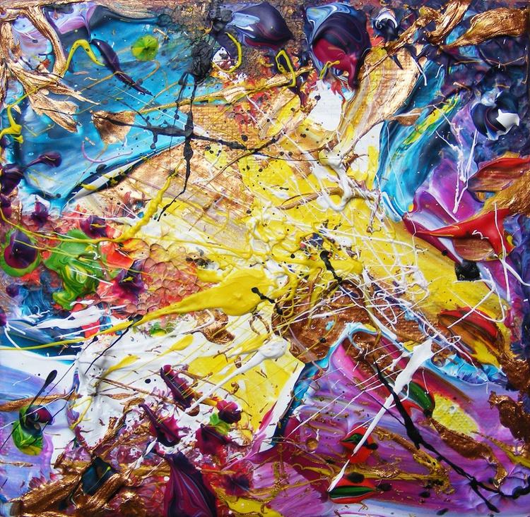 "Small Abstract - ""Nebula #1"" - Image 0"