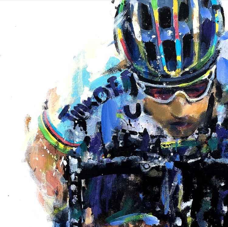 Sagan rainbow jersey -