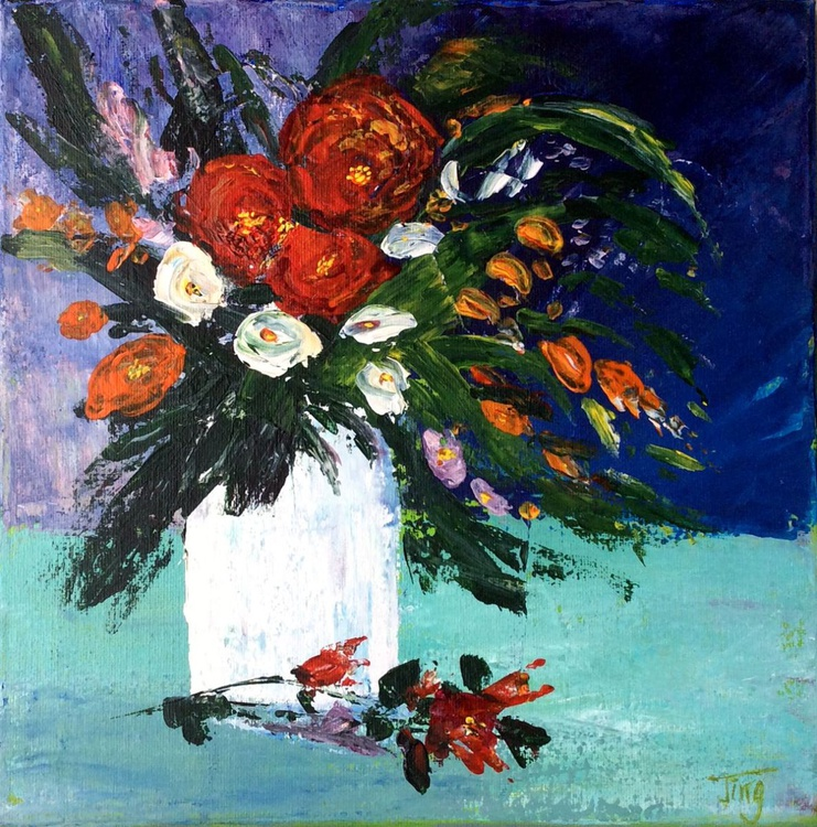Vase of Flowers - Image 0