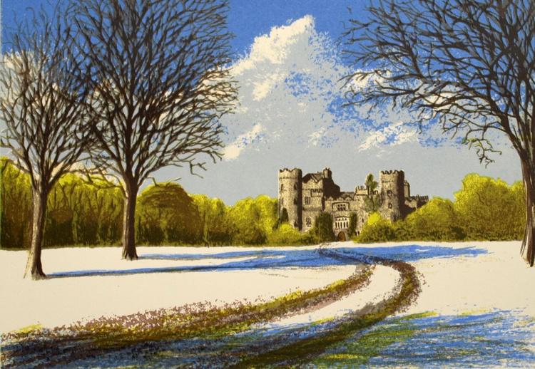 Winter Scene, Malahide Castle - Image 0