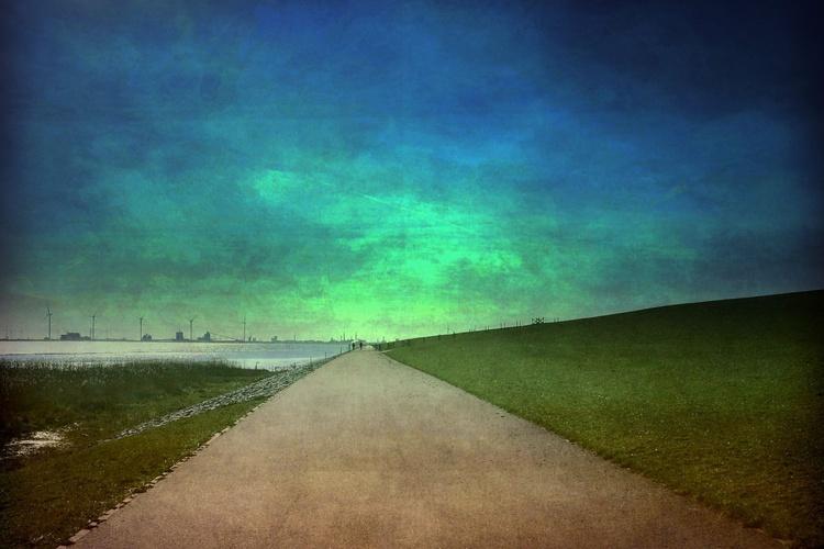 Into the Blue Calmness - Canvas 75 x 50 cm - Image 0