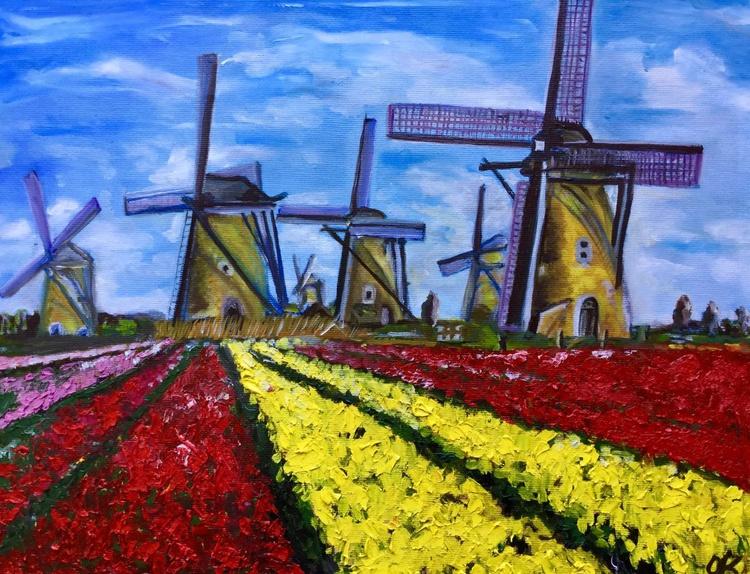 Dutch windmills - Image 0