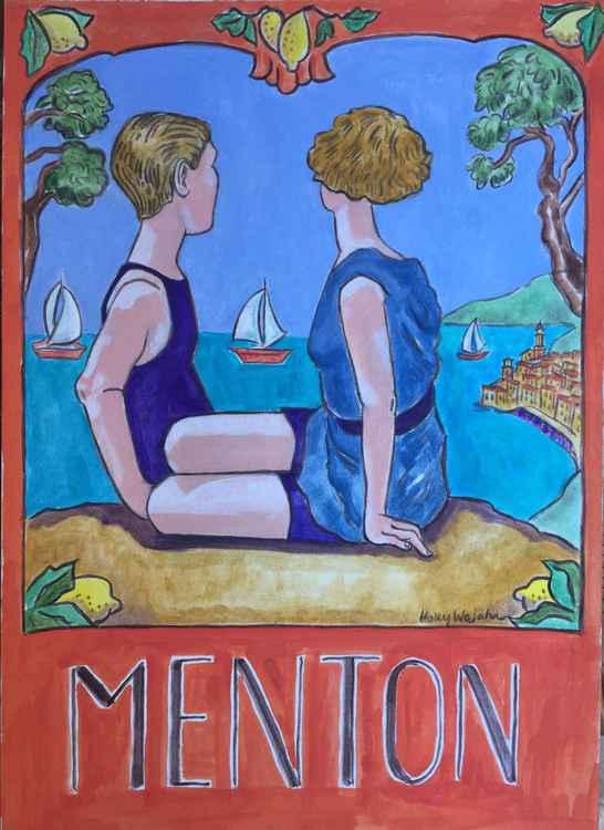 """""""Vintage Menton Art"""""""