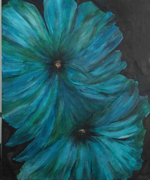 """Blue Blooms"" -"