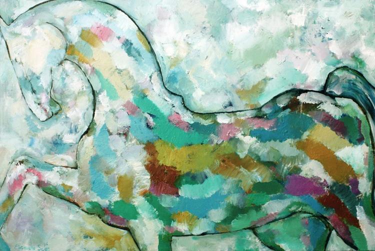 Horse 23,6x35', 60x90 cm - Image 0