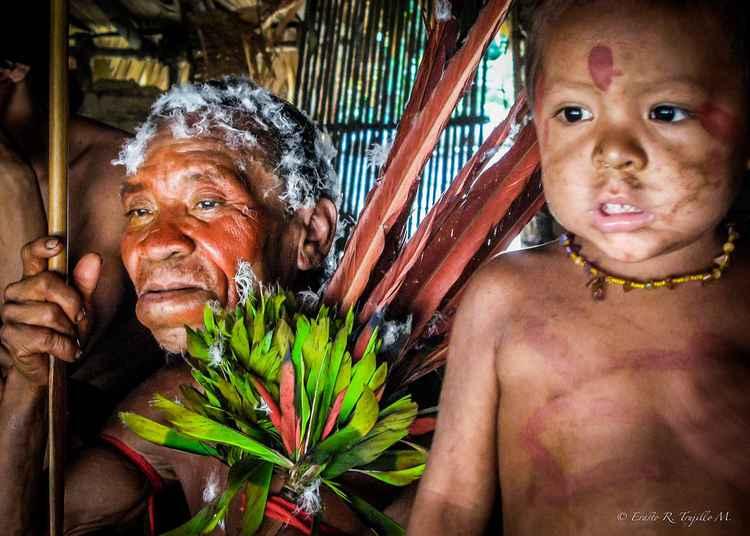 Yanomami Indians - Amazon Rainforest - Brazil 2007