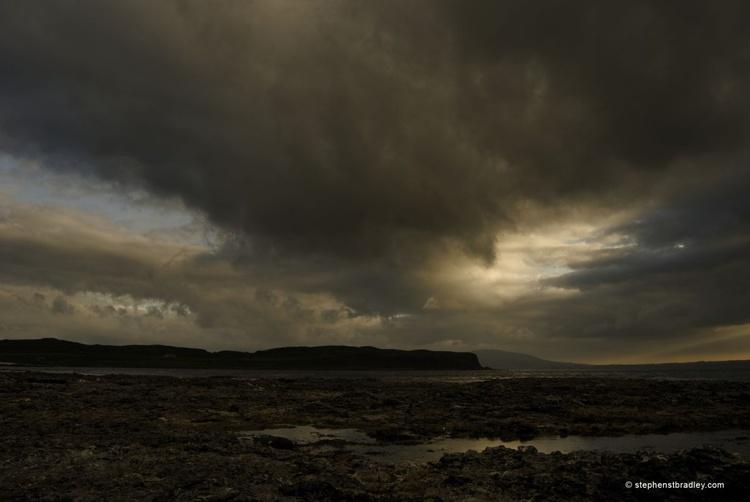 Rathlin Sunset - fine art landscape photograph of Ireland - Image 0