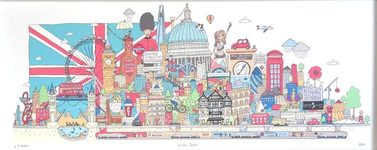 London Town (unframed) - Image 0